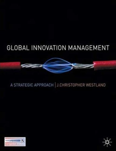 Global Innovation Management A Strategic Approach  2008 edition cover