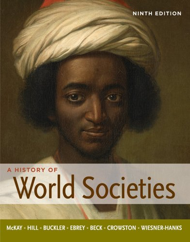 History of World Societies, Combined Volume  9th 2012 edition cover