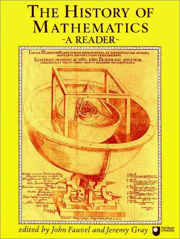 History of Mathematics A Reader 18th 1987 edition cover