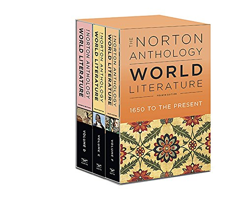 The Norton Anthology of World Literature:   2018 9780393265910 Front Cover
