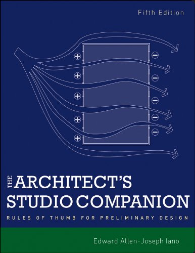 Architect's Studio Companion Rules of Thumb for Preliminary Design 5th 2012 edition cover