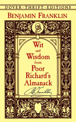 Wit and Wisdom from Poor Richard's Almanack  N/A edition cover