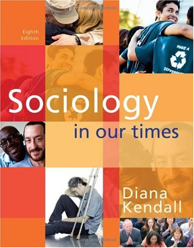 Sociology in Our Times The Essentials 8th 2011 edition cover
