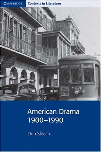 American Drama, 1900-1990   2000 edition cover