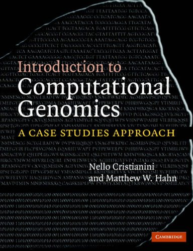 Introduction to Computational Genomics A Case Studies Approach  2006 edition cover