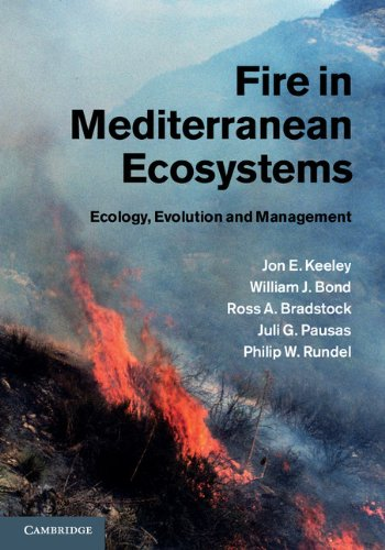 Fire in Mediterranean Ecosystems Ecology, Evolution and Management  2011 9780521824910 Front Cover