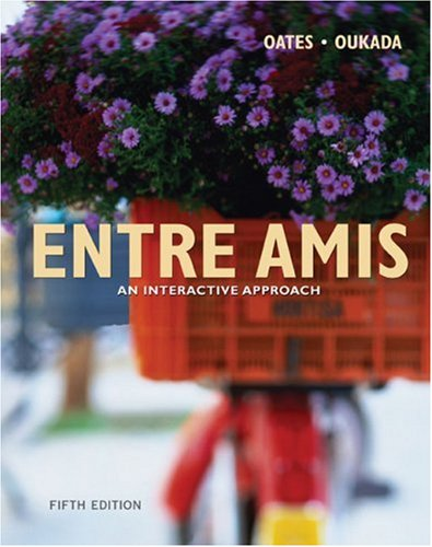 Entre Amis An Interactive Approach 5th 2006 9780618506910 Front Cover