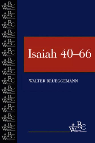 Isaiah, 40-66  N/A edition cover