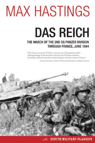 Reich The March of the 2nd SS Panzer Division Through France, June 1944  2013 edition cover