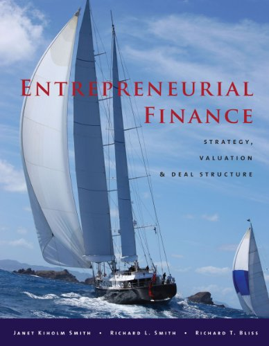 Entrepreneurial Finance Strategy, Valuation, and Deal Structure  2011 edition cover