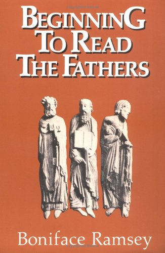 Beginning to Read the Fathers  N/A edition cover