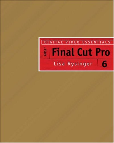 Final Cut Pro 6   2009 9781401877910 Front Cover