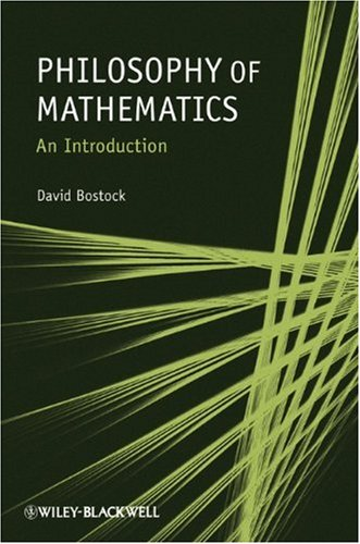 Philosophy of Mathematics An Introduction  2009 edition cover