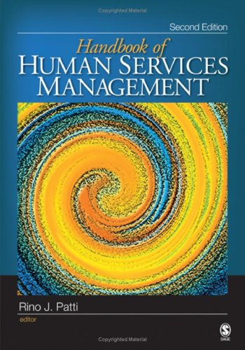 Handbook of Human Services Management  2nd 2009 edition cover