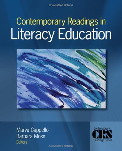 Contemporary Readings in Literacy Education   2010 edition cover