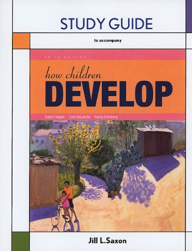 How Children Develop  3rd 2011 (Revised) edition cover