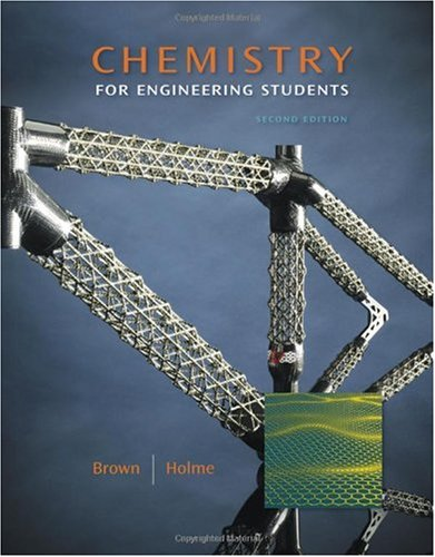 Chemistry for Engineering Students  2nd 2011 edition cover