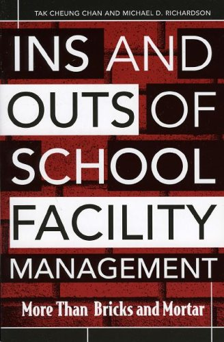 Ins and Outs of School Facility Management More Than Bricks and Mortar  2005 edition cover