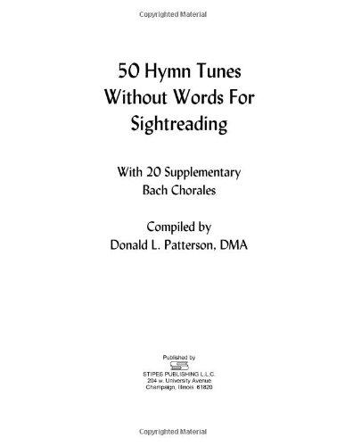 50 Hymn Tunes N/A edition cover