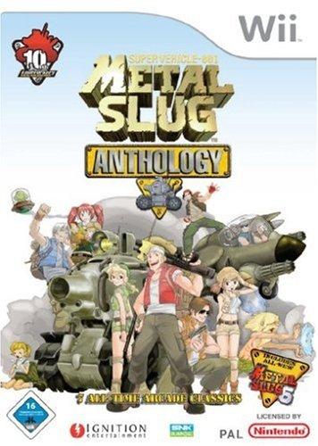 Metal Slug - Anthology Nintendo Wii artwork