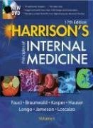 Harrison's Principles of Internal Medicine  17th 2008 edition cover