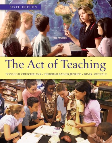 Act of Teaching  6th 2012 edition cover