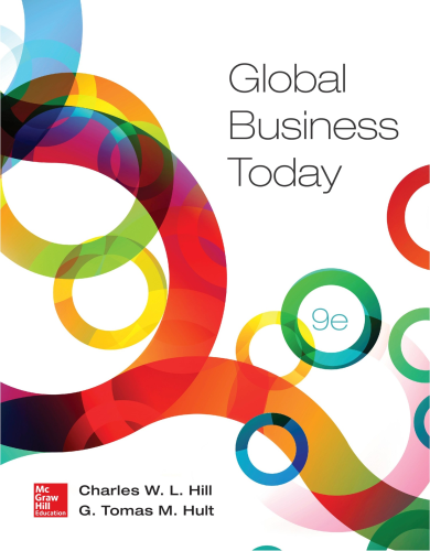 Global Business Today  9th 2016 edition cover