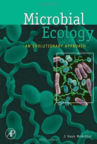 Microbial Ecology An Evolutionary Approach  2006 edition cover