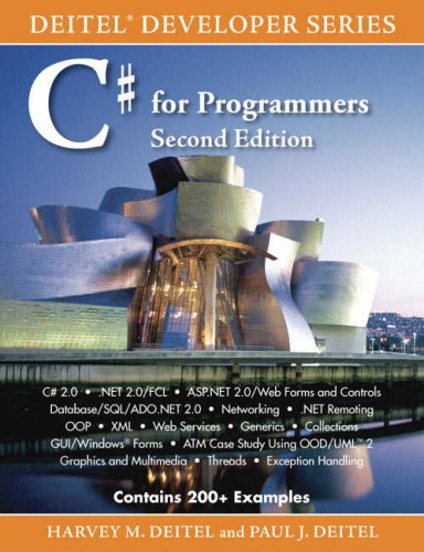 C# for Programmers  2nd 2006 (Revised) edition cover