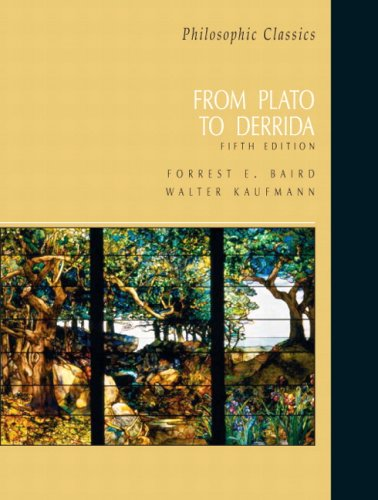 Philosophic Classics From Plato to Derrida 5th 2007 9780131585911 Front Cover