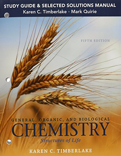 General, Organic, and Biological Chemistry: Structures of Life  2015 edition cover