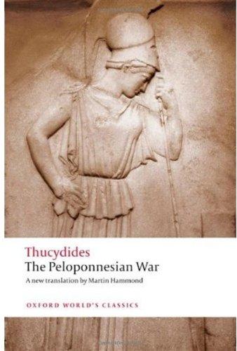 Peloponnesian War   2009 edition cover