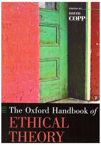 Oxford Handbook of Ethical Theory   2007 edition cover
