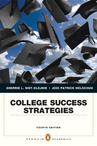 College Success Strategies  4th 2013 (Revised) edition cover
