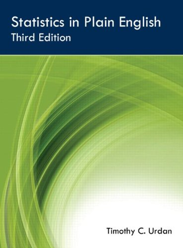 Statistics in Plain English Third Edition  3rd 2010 (Revised) edition cover