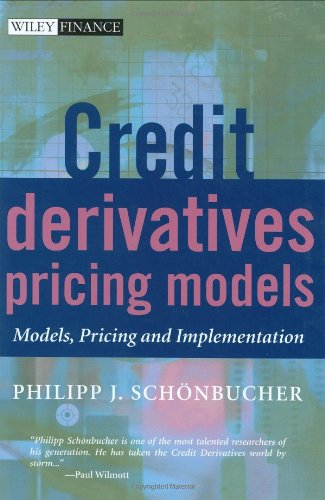 Credit Derivatives Pricing Models Models, Pricing and Implementation  2002 edition cover