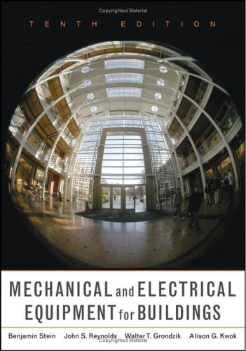 Mechanical and Electrical Equipment for Buildings  10th 2006 (Revised) edition cover