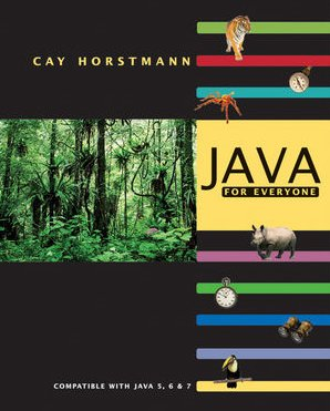 Java for Everyone   2010 edition cover