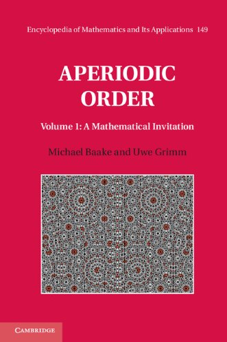 Aperiodic Order: Volume 1, a Mathematical Invitation   2013 9780521869911 Front Cover