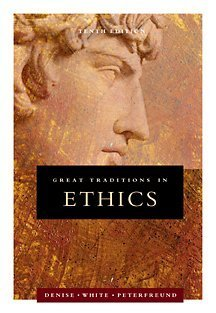 Great Traditions in Ethics  10th 2002 edition cover