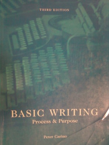 BASIC WRITING >CUSTOM< N/A 9780536511911 Front Cover