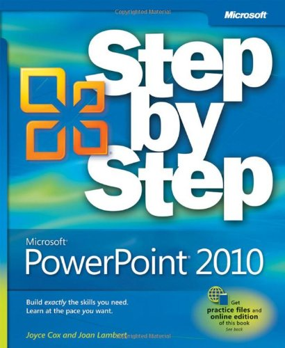 Microsoft� PowerPoint� 2010   2010 edition cover