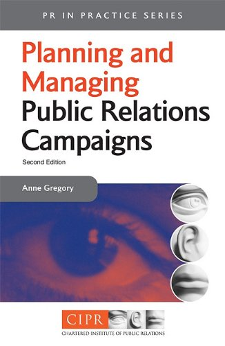 Planning and Managing Public Relations Campaigns  2nd 2000 (Revised) 9780749429911 Front Cover