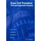 TEXAS CIVIL PROC.:TRIAL+APPEL. N/A 9780769852911 Front Cover