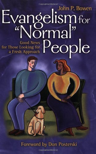 Evangelism for Normal People   2002 edition cover