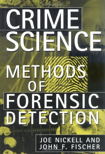 Crime Science Methods of Forensic Detection N/A edition cover