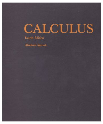 Calculus  4th edition cover