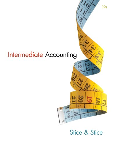 Intermediate Accounting:   2013 edition cover