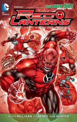 Red Lanterns Vol. 1: Blood and Rage (the New 52)   2012 9781401234911 Front Cover
