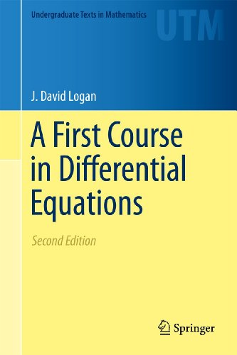First Course in Differential Equations  2nd 2011 edition cover